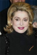 "Catherine Deneuve at the ""Gangs of New York"" premiere"