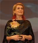 Catherine Deneuve at the Las Palmas Film Festival