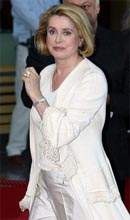 Catherine Deneuve at the Monte-Carlo Television Festival