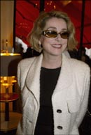 Catherine Deneuve at the Plaza Athénée luncheon