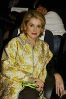 "Catherine Deneuve at the premiere of ""Peau d'âne"" - photo Stéphane Cardinale"