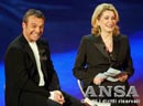 "Catherine Deneuve on Rai Uno for TV show ""Amore mio"""
