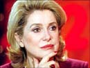 Catherine Deneuve in Warsaw